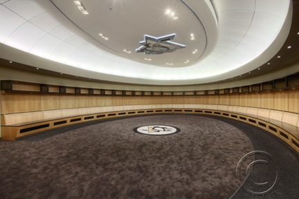 penguins locker room