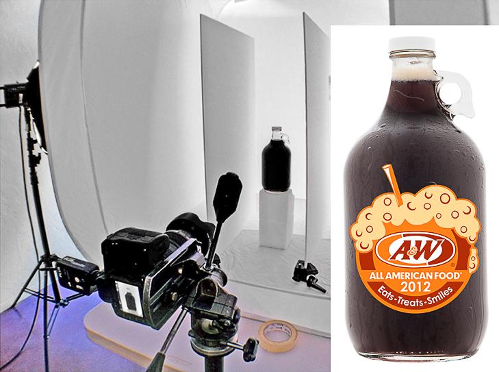 A&W Rootbeer jug